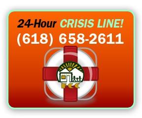 24-Hour Crisis Line! (618) 658-2611
