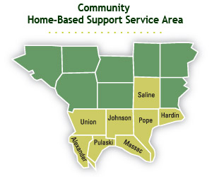Community Home-based Support Service Area