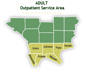 Adult Outpatient Service Map