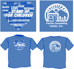 Child Abuse Awareness Month T-Shirt Image