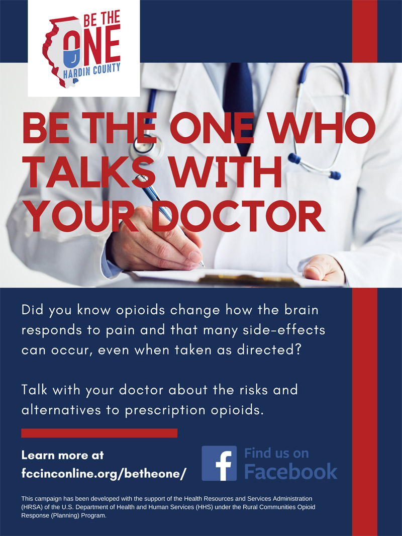 Message 2: Be The One Who Talks With Your Doctor